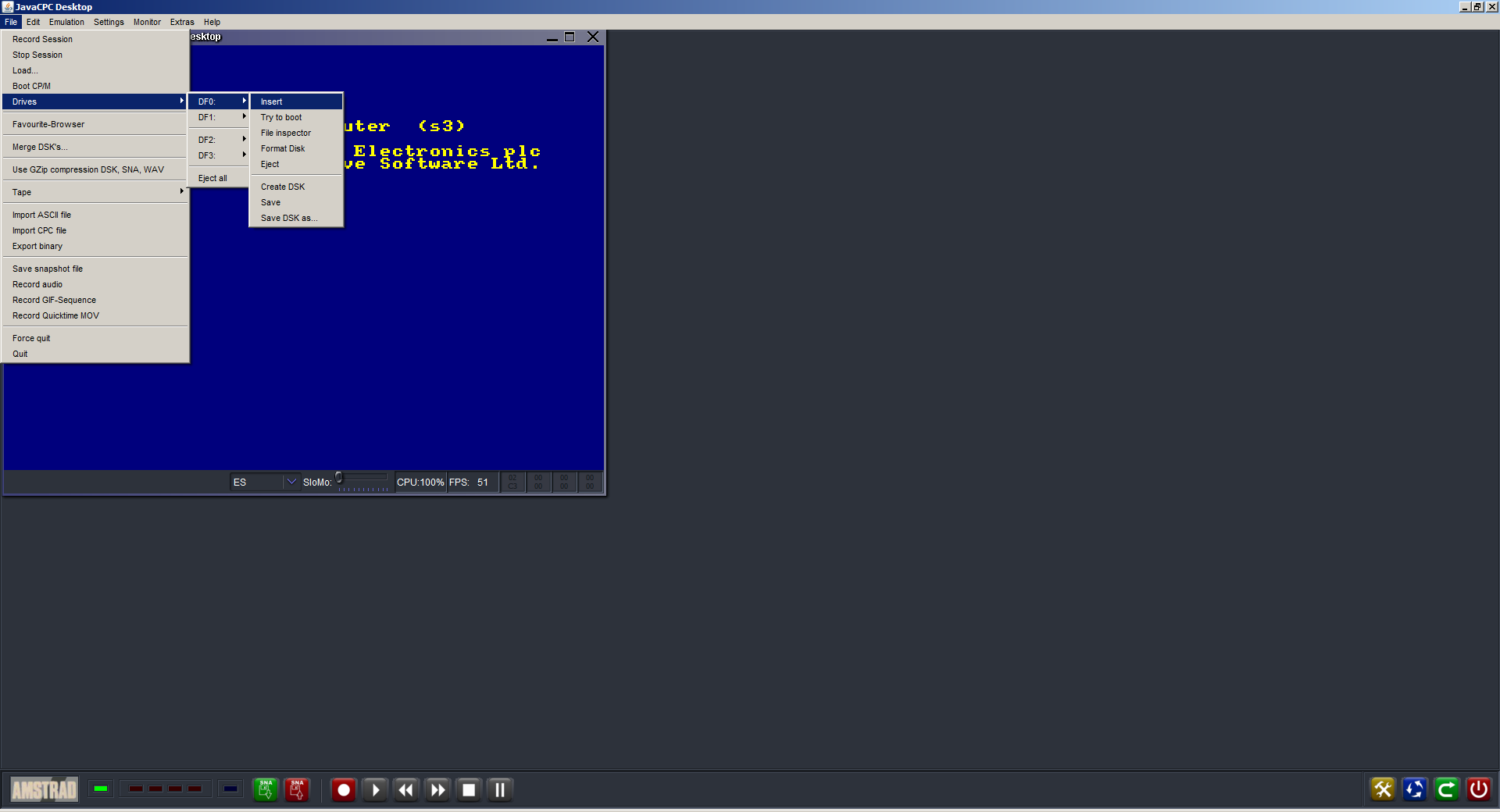 How to Emulate Amdstrad CPC and PLAY Games    the Brick In