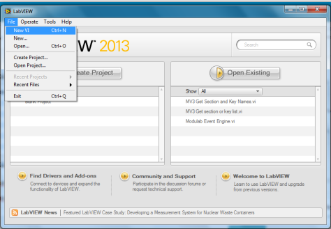 Labview Interface for Arduino