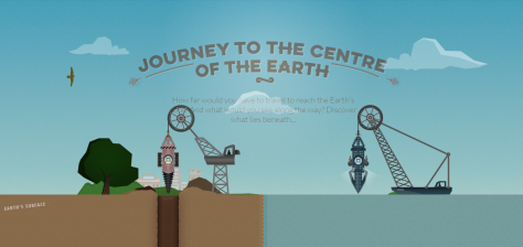 journey o the centre of the earth